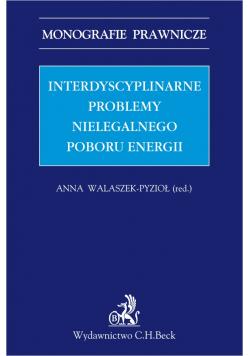 Interdyscyplinarne problemy nielegalnego poboru energii