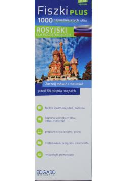 Rosyjski Fiszki PLUS 1000