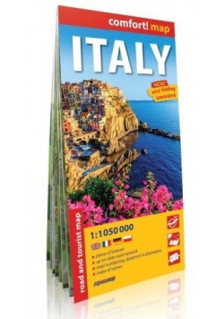 Comfort! map Włochy (Italy) 1:1 050 000 mapa