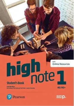 High Note 1 SB+ kod Digital Resource + eBook