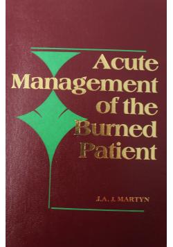 Acute Management of the Burned Patient