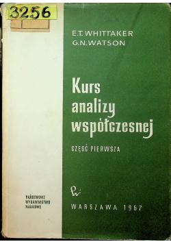 Kurs analizy współczesnej