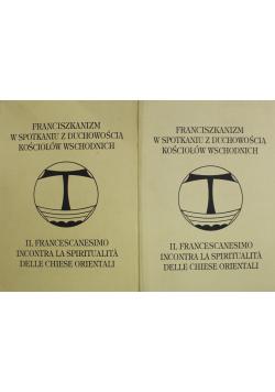 Franciszkanizm w spotkaniu z duchowością kościołów wschodnich 2 tomy