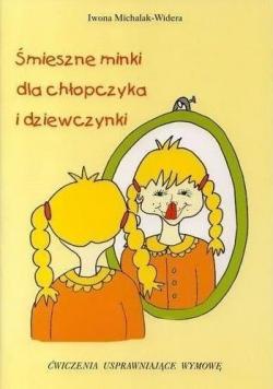 Śmieszne minki dla chłopczyka i dziewczynki