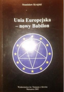 Unia Europejska nowy Babilon
