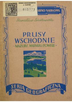 Prusy Wschodnie Mazury Warmia i Powiśle 1947 r.