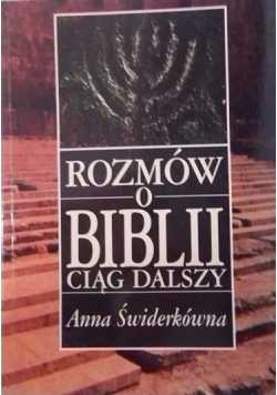 Rozmów o Biblii ciąg dalszy