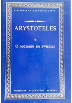 Arystoteles  O rodzeniu się zwierząt