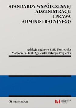 Standardy współczesnej administracji i prawa admi.