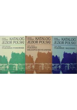 Katalog jezior polskich 3 części