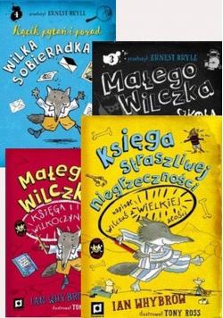 Przygody Małego Wilczka Pakiet 4 książek