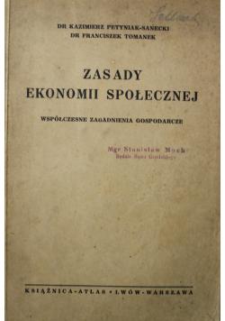 Zasady Ekonomii Społecznej 1938 r.