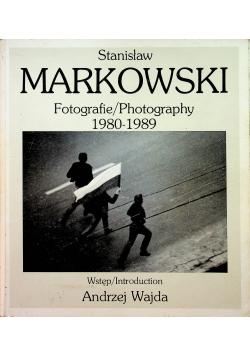 Fotografie 1980 1989 plus dedykacja Markowskiego