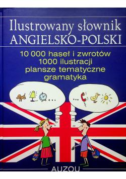 Ilustrowany słownik angielsko polski