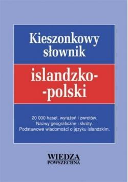 Kieszonkowy słownik islandzko - polski