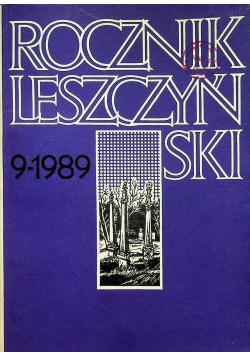 Rocznik leszczyński Tom 9
