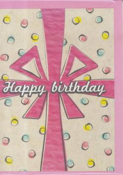 Karnet B6 Urodziny prezent