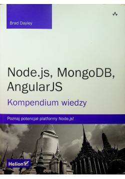 Node js MongoDB AngularJS Kompendium wiedzy