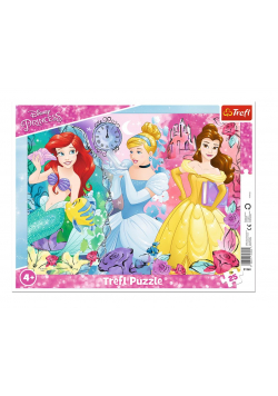 Puzzle ramkowe 25 Magiczne Księżniczki TREFL