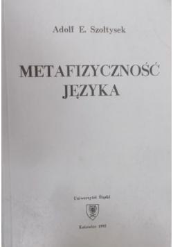 Metafizyczność języka