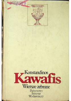 Kawafis Wiersze zebrane