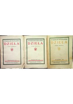 Wyspiański Dzieła tom od I do III ok 1926r