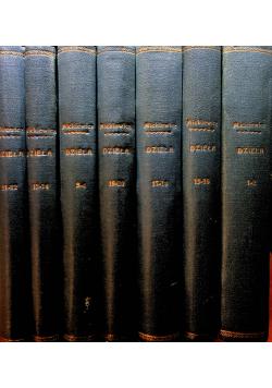 Dzieła Tom 7 tomów 1929 r