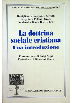 La dottrina sociale cristiana Una introduzione