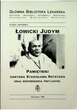 Łowicki Judym Pamiętniki doktora Stanisława Rotstada