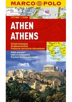 Plan Miasta Marco Polo. Ateny