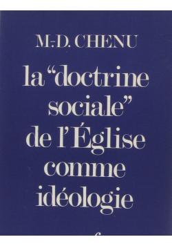 La doctrine sociale de leglise comme ideologie