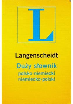 Duży słownik polsko niemiecki niemiecko polski