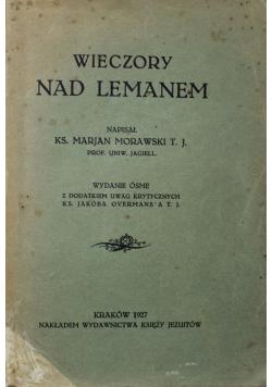 Wieczory nad Lemanem 1927 r.