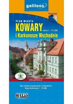Plan masta - Kowary, Karkonosze Wsch. 1:12 500