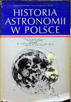 Historia astronomii w Polsce tom I