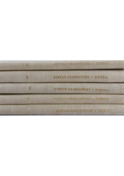 Czarnowski Dzieła 5 tomów