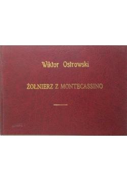 Żołnierz z Montecassino reprint 1945 r.
