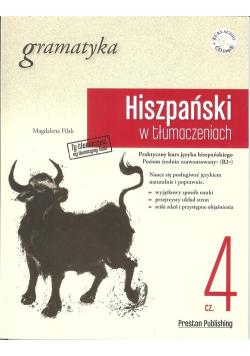 Hiszpański w tłumaczeniach Gramatyka 4 + CD