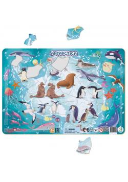 Puzzle ramkowe 53 Antarktyda