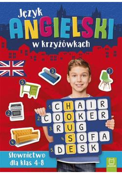 Język angielski w krzyżówkach. Słownictwo dla klas