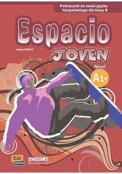 Espacio Joven A1+ Podręcznik do nauki języka hiszpańskiego dla klasy 8