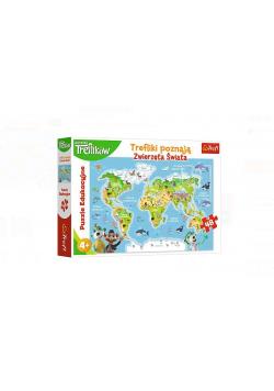Puzzle Edukacyjne Trefliki poznają zwierzęta TREFL