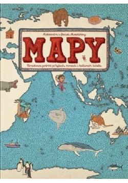 Mapy Obrazkowa podróż po lądach morzach i kulturach świata