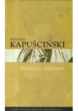 Kapuściński Wiersze zebrane