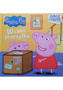 Peppa Pig ważna przesyłka