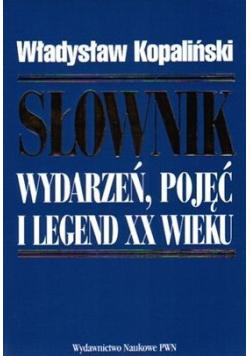 Słownik wydarzeń pojęć i legend XX wieku