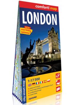 Londyn London laminowany plan miasta 1:17 500