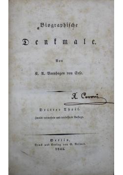 Biographische Denkmale 1845 r.
