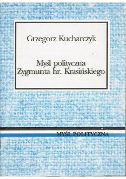 Myśl polityczna Zygmunta hr Krasińskiego