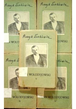 Pan Wołodyjowski Tom I do V 1936 r.